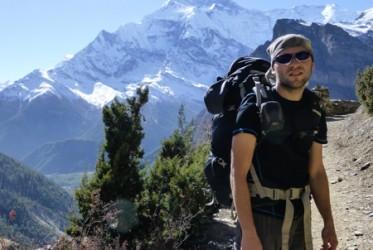 14 zmeczenie na szlaku trekkingowym annapurny