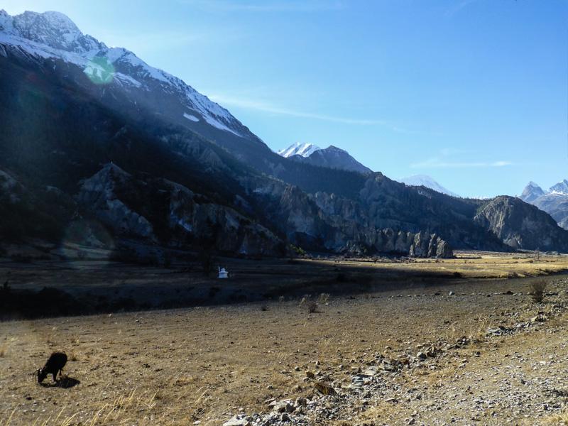 17 widoki na szlaku annapurna