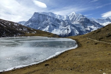 19 ice lake okolice annapurny
