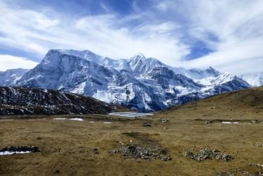 20 lodowe jezioro okolice annapurny