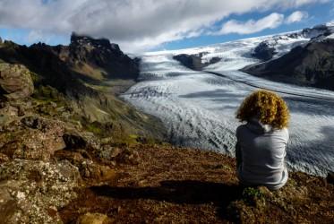 lodowiec na islandii