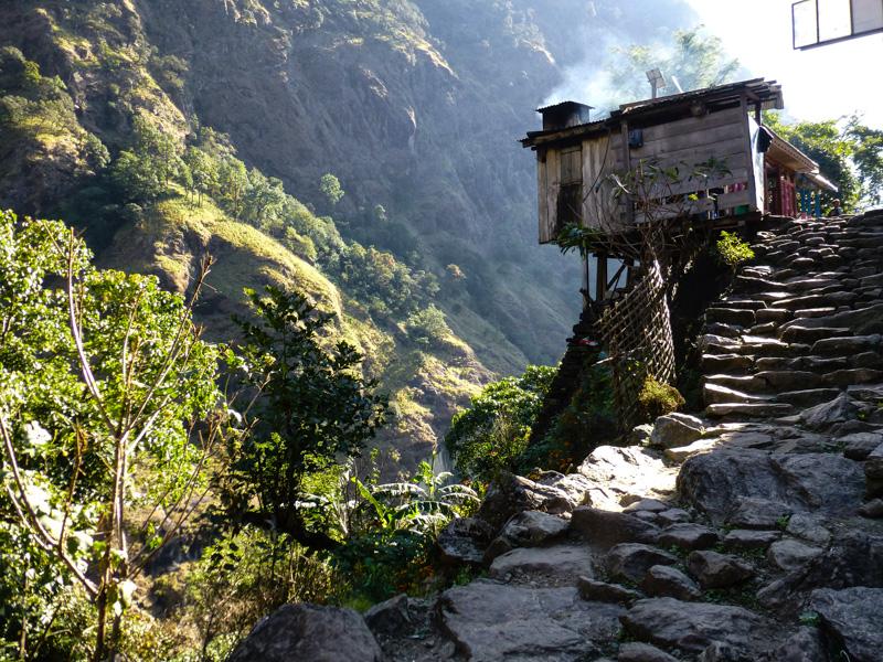 3 wioski w himalajach