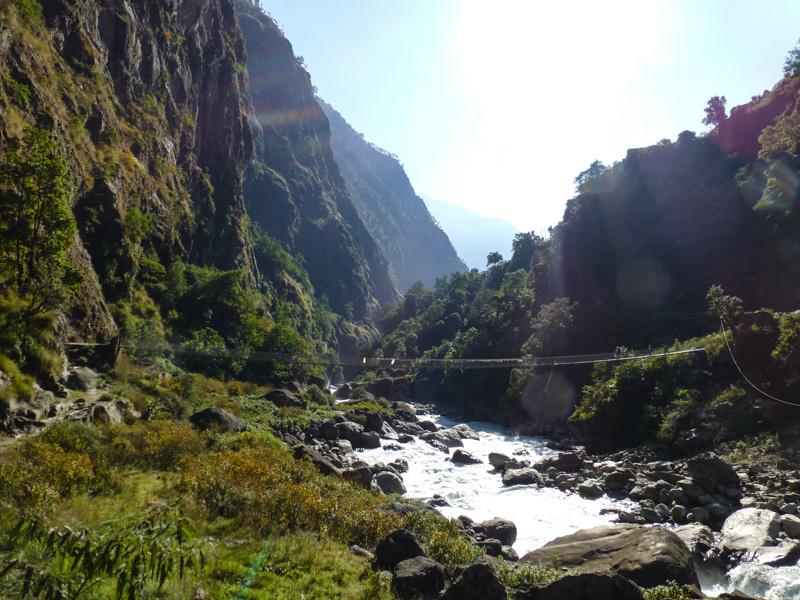 5 mosty w himalajach