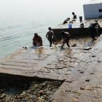 Niestety, tak silna eksploatacja rzeki powoduje znaczne jej zanieczyszczenie. Ganges ma unikalne właściwości, bakterie giną w nim trzykrotnie szybciej niż w innych rzekach, a poziom tlenu jest w nim 25 razy wyższy. Mimo to, ponad 30% zwierząt, jakie zamieszkiwały rzekę 30 lat temu wyginęło, a poziom zanieczyszczeń wielokrotnie przekracza dopuszczalne normy.