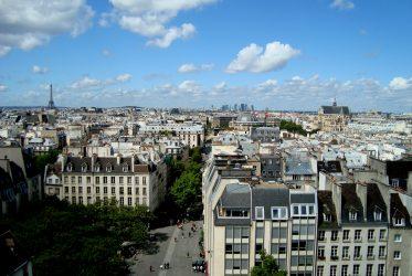widok na paryz