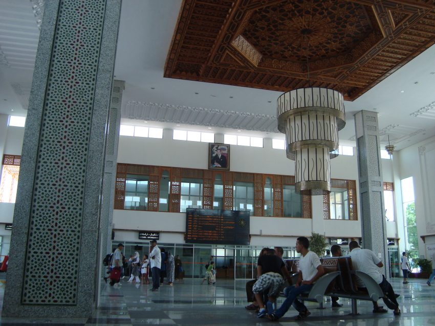 dworzec maroko