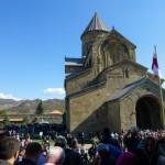 a to już Mccheta i tłumy na święcie gruzinów.