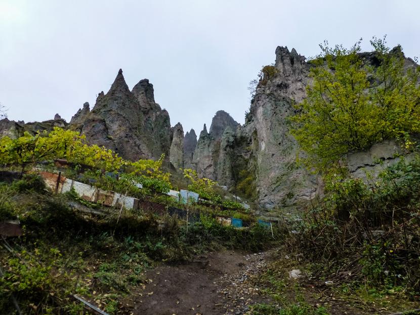 Kamienne miasto w Goris