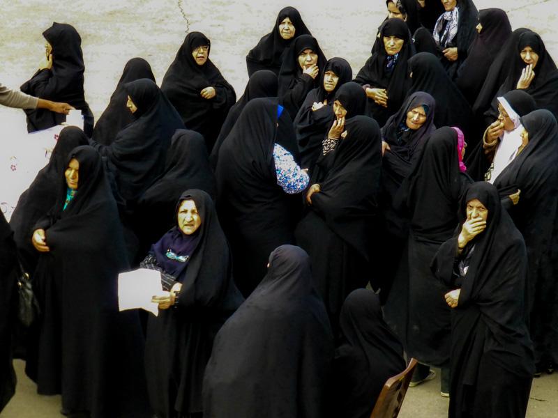 kobiey w hidżabie