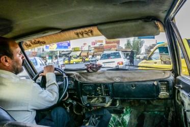 iran taksówka