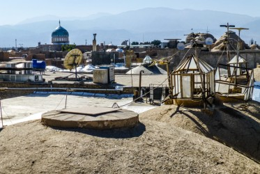 na dachu bazaru