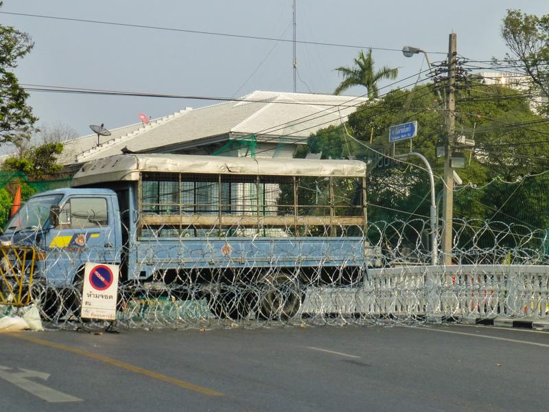 protesty w bangkoku