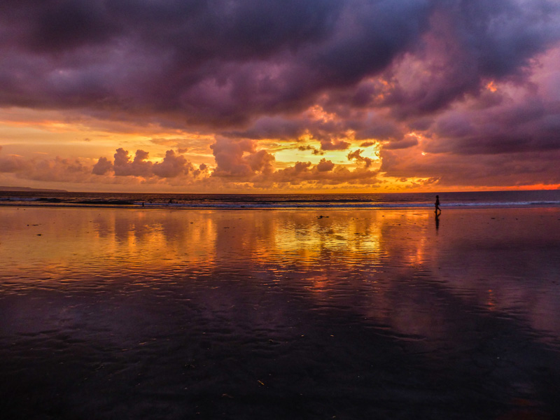 bali zachód słońca