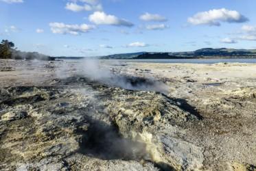 okolice jeziora Rotorua