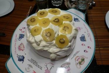 pavlova ciasto