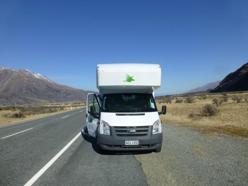 kamper nowa zelandia