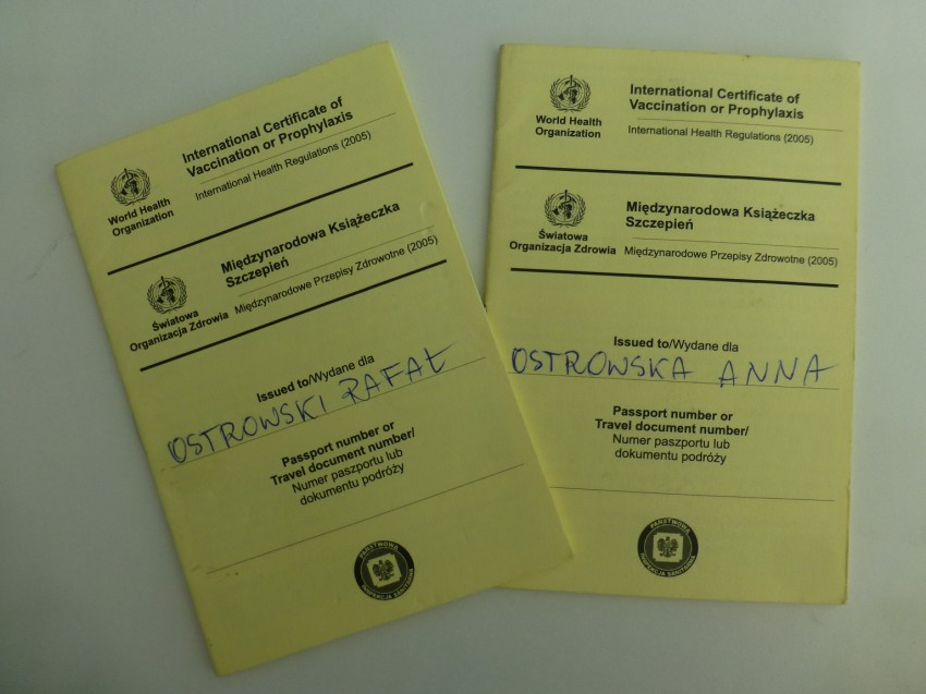 karty szczepień