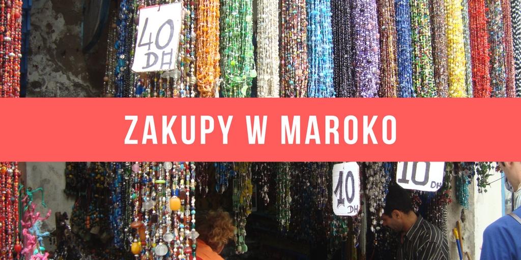 Zakupy w Maroko