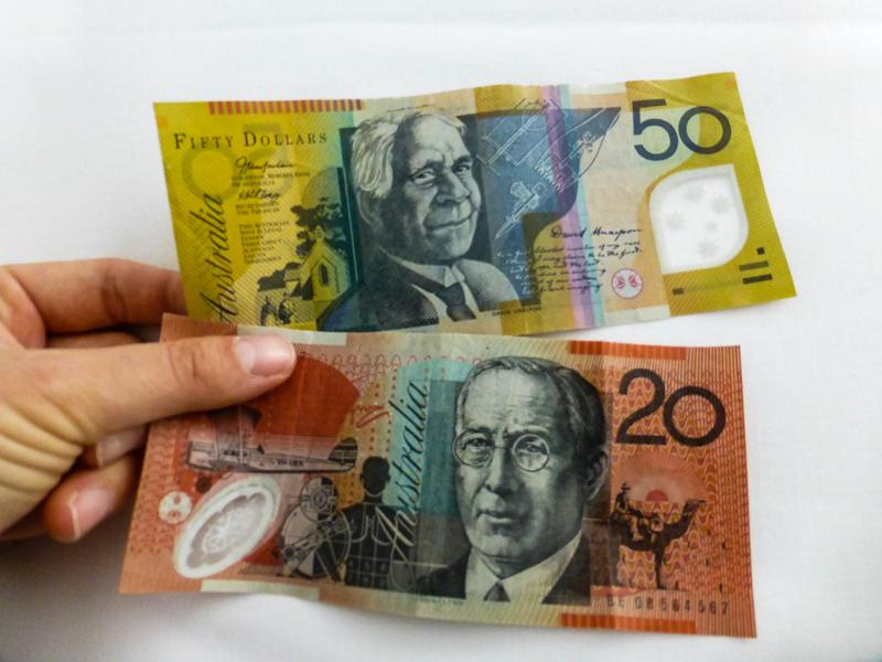 australia waluta zwiedzanie
