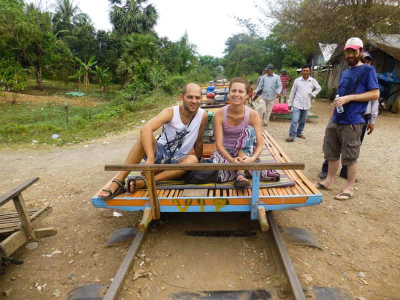 bambusowy pociag kambodza