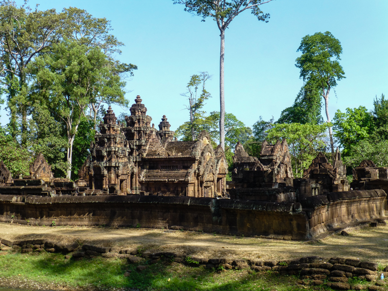 banteay sray kambodza