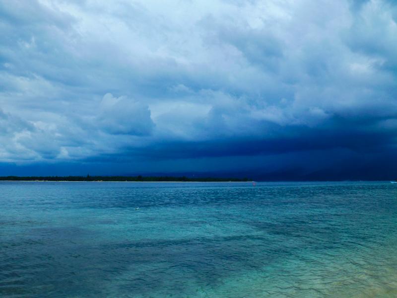 chmura nad lombok