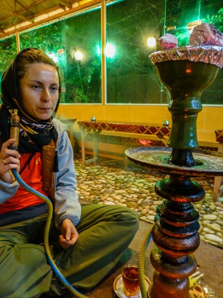 fajka wodna iran