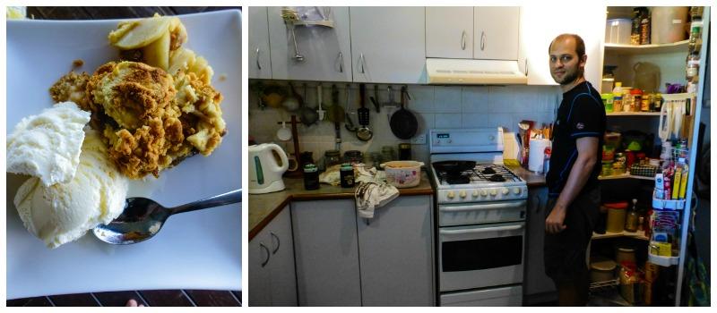 gotowanie wwoofing