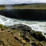 Jedna z niewielu atrakcji Islandii, gdzie niestety bywa tłoczno...