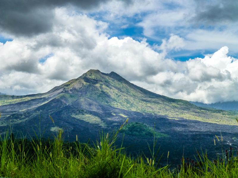 gunung bator wulkan bali
