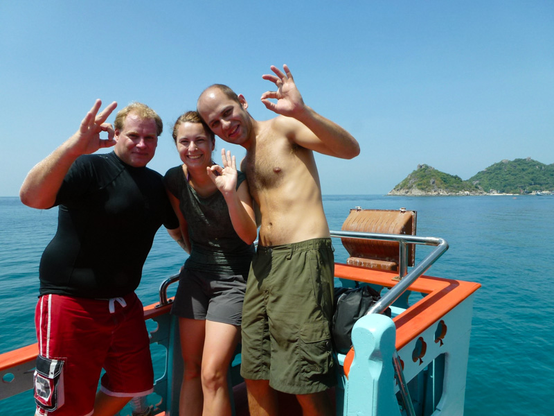 instruktorzy nurkowania ko tao
