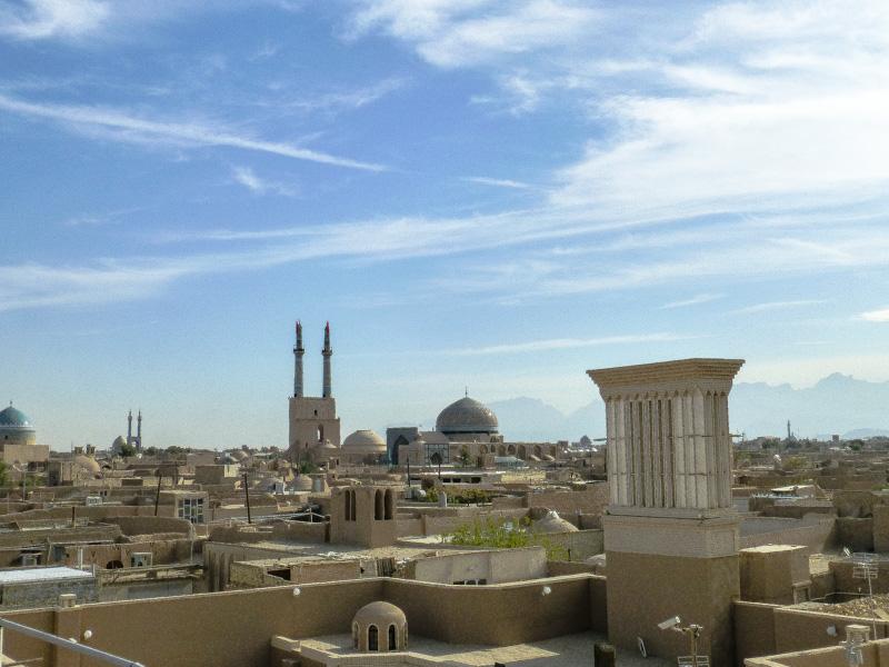 jazd z dachu bazaru