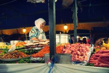 kolacja w marrakechu