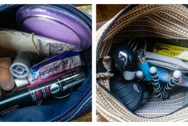 kosmetyczka w podróży