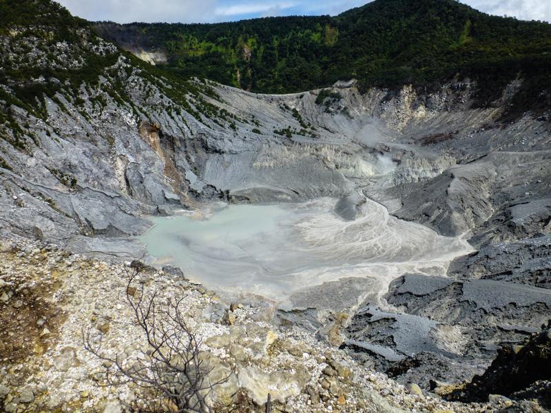 krater Tangkuban perahu
