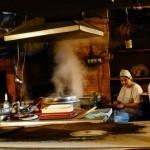 kuchnia w restauracji w tbilisi