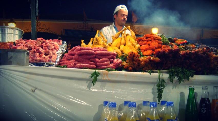 na bazarze