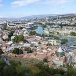 panorama miasta tbilisi