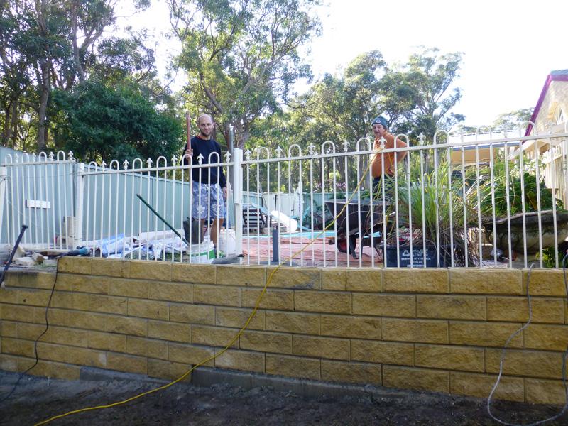 paraca na budowie