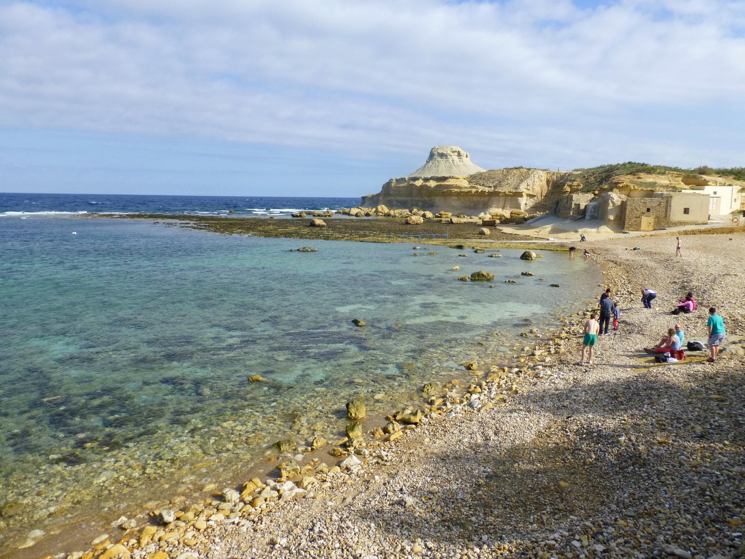 Xwejni Bay malta