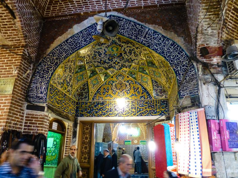tabriz meczet bazar