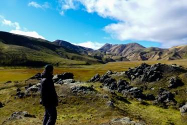 Pogoda wyjątkowo dopisała, dlatego też nie tracąc czasu od razu wyruszyliśmy na trekking po okolicy.