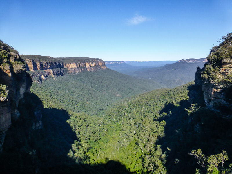 widoki blue mountains