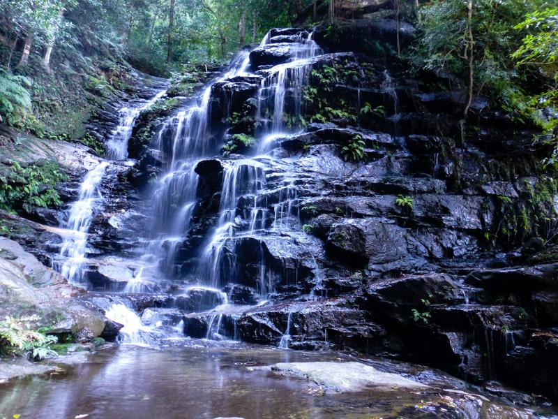 wodospad gory blekitne