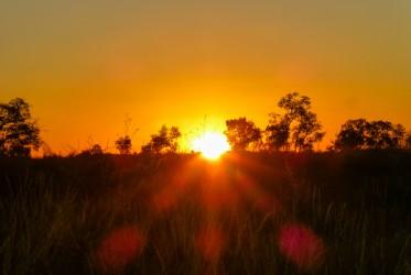 zachod slonca australia outback
