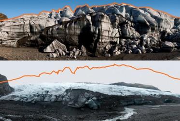 zmiany w lodowcach